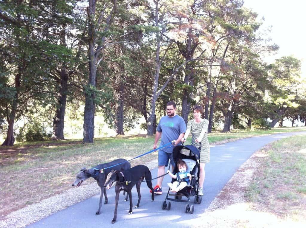 Canberra pram friendly dog walks - Yarralumla
